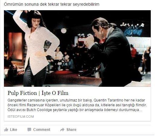 post of facebook